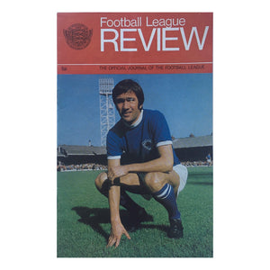 1971/72 Football League Review Magazine