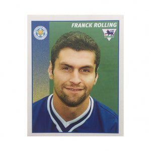 1996/97 Franck Rolling Leicester City Merlin Football Sticker