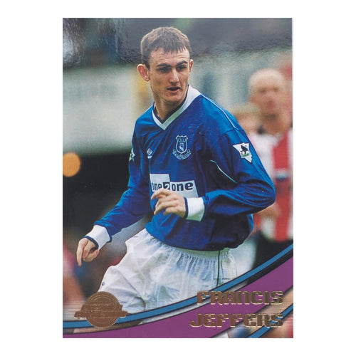 2000 Francis Jeffers Everton Premier Gold Trading Card