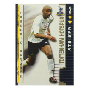 2004/05 Frederic Kanoute Tottenham Shoot Out Trading Card