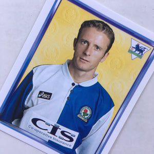 1997/98 Kevin Gallacher Blackburn Rovers Merlin Football Sticker