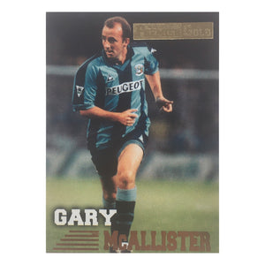 1997 Gary McAllister Coventry City Premier Gold Trading Card