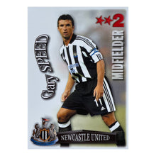 2003/04 Gary Speed Newcastle United Shootout Trading Card