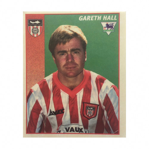 1996/97 Gareth Hall Sunderland Merlin Football Sticker