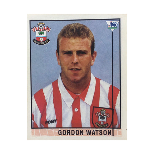 1995/96 Gordon Watson Southampton Merlin Football Sticker