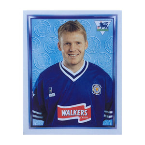 1997/98 Graham Fenton Leicester City Merlin Football Sticker