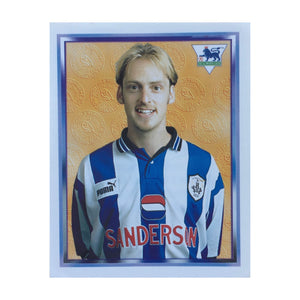 1997/98 Graham Hyde Sheffield Wednesday Merlin Football Sticker