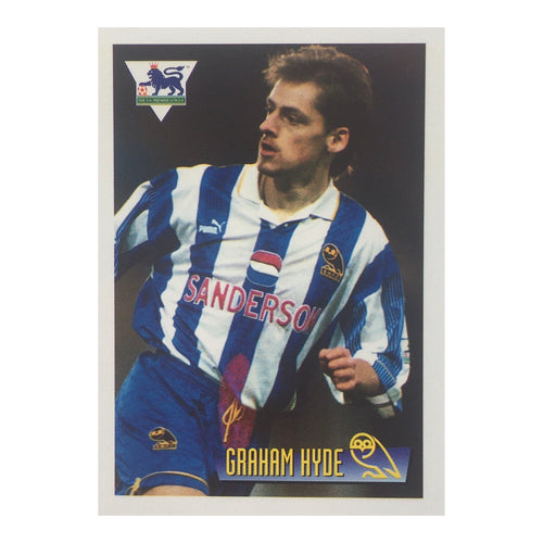 1996 Graham Hyde Sheffield Wednesday Merlin Trading Card