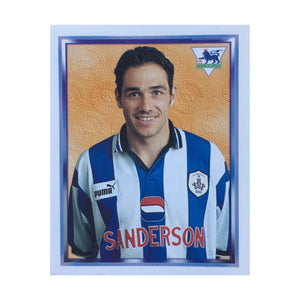 1997/98 Guy Whittingham Sheffield Wednesday Merlin Football Sticker