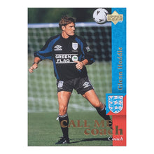 1996-99 Glenn Hoddle England Manager Upper Deck Trading Card