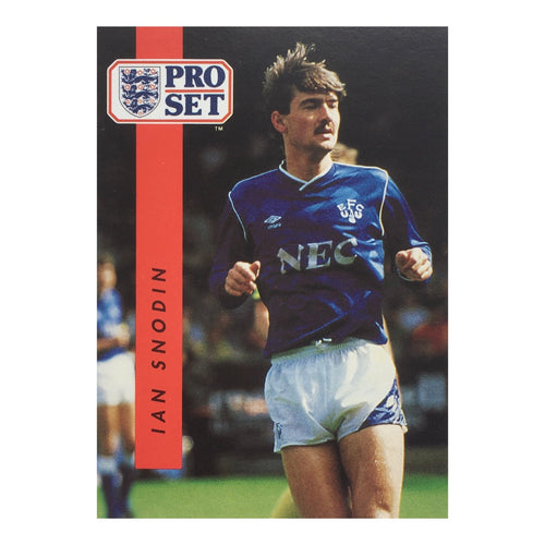 1990/91 Ian Snodin Everton Pro Set Trading Card