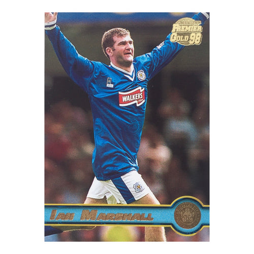 1998 Ian Marshall Leicester City Premier Gold Trading Card