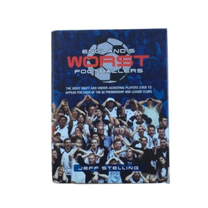 England's Worst Footballers Book