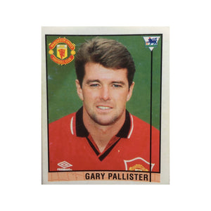 1995/96 Gary Pallister Manchester United Merlin Football Sticker