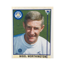 1995/96 Nigel Worthington Leeds United Merlin Football Sticker