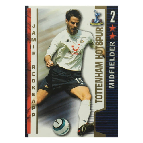 2004/05 Jamie Redknapp Tottenham Shoot Out Trading Card