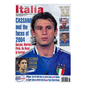 2004 Calcio Italia Football Magazine - January