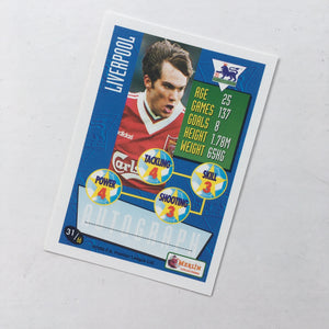 1996 Jason Mcateer Liverpool Merlin Trading Card