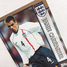 2002 Jamie Carragher England Trading Card