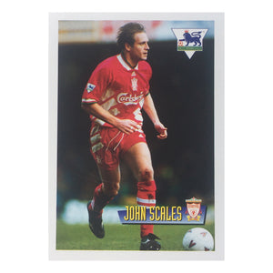 1996 John Scales Liverpool Merlin Trading Card