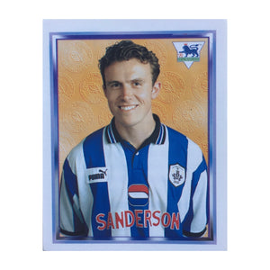 1997/98 Jon Newsome Sheffield Wednesday Merlin Football Sticker