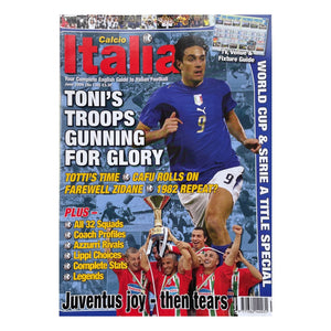 2006 Calcio Italia Football Magazine - June