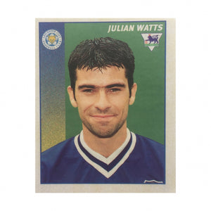1996/97 Julian Watts Leicester City Merlin Football Sticker