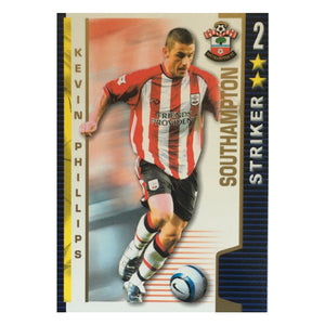 2004/05 Kevin Phillips Southampton Shoot Out Trading Card