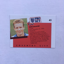 1990/91 Kevin Gallacher Coventry City Pro Set Trading Card
