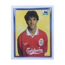 1997/98 Karlheinz Riedle Liverpool Merlin Football Sticker