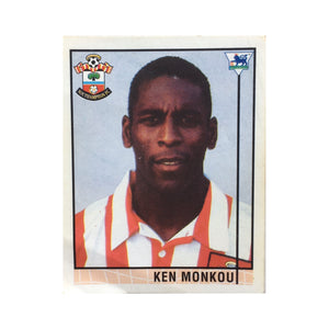 1995/96 Ken Monkou Southamton Merlin Football Sticker