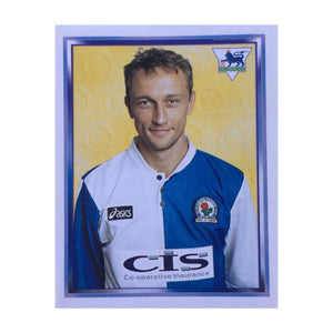 1997/98 Lars Bohinen Blackburn Rovers Merlin Football Sticker