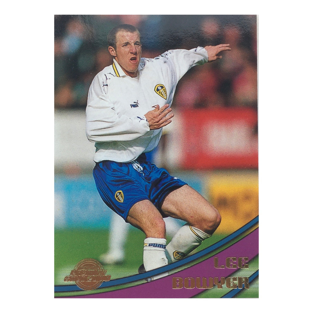 2000 Lee Bowyer Leeds United Premier Gold Trading Card
