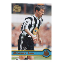 1998 Rob Lee Newcastle United Premier Gold Trading Card