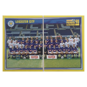 1997/98 Leicester City Squad Photo Merlin Football Stickers