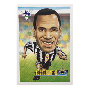 1996 Les Ferdinand Newcastle United Merlin Football Trading Card