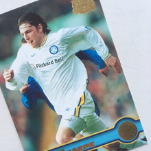 1998 Lee Sharpe Leeds United Premier Gold Trading Card