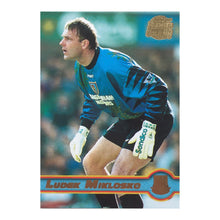 1998 Ludek Miklosko West Ham United Premier Gold Trading Card