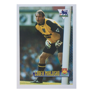 1996 Ludek Miklosko West Ham United Merlin Trading Card