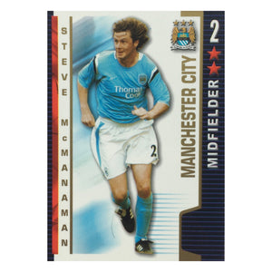 2004/05 Steve McManaman Manchester City Shoot Out Trading Card