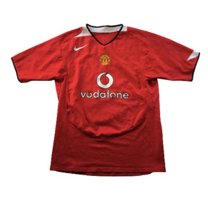 2004/06 Manchester United Home Shirt - XS