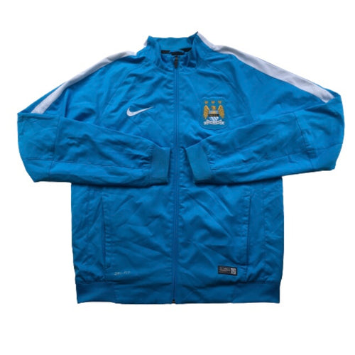 2015/16 Manchester City Training Jacket - M