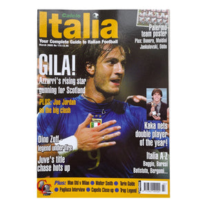 2005 Calcio Italia Football Magazine - March
