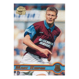 1998 Marc Rieper West Ham United Premier Gold Trading Card