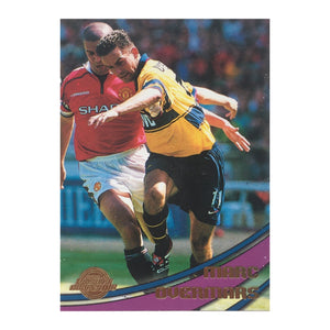 2000 Marc Overmars Arsenal Premier Gold Trading Card