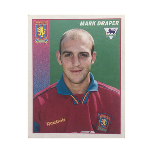 1996/97 Mark Draper Aston Villa Merlin Football Sticker