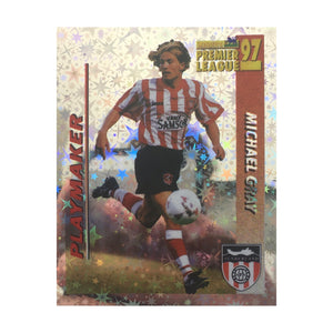 1996/97 Michael Gray Sunderland Shiny Merlin Football Sticker