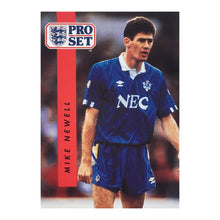 1990/91 Mike Newell Everton Pro Set Trading Card