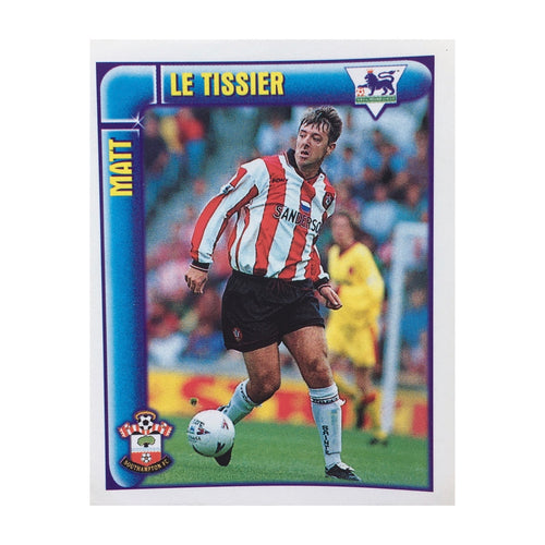 1997/98 Matt Le Tissier Southampton Merlin Football Sticker