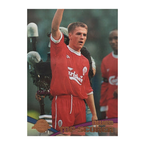 2000 Michael Owen Liverpool Premier Gold Trading Card